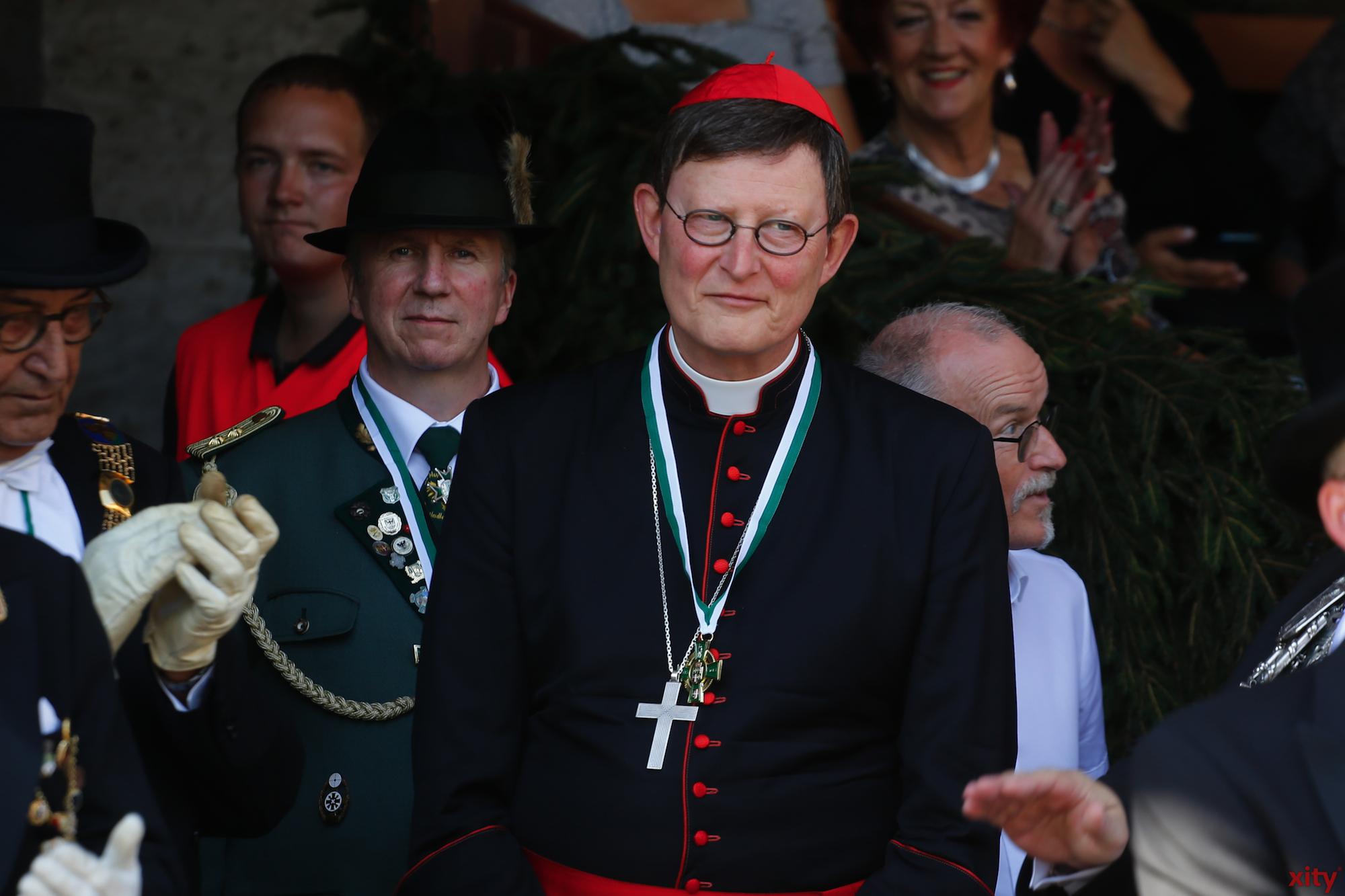 Erzbischof Rainer Maria Kardinal Woelki bei einem Besuch in Neuss im Sommer 2015 (Foto: xity)