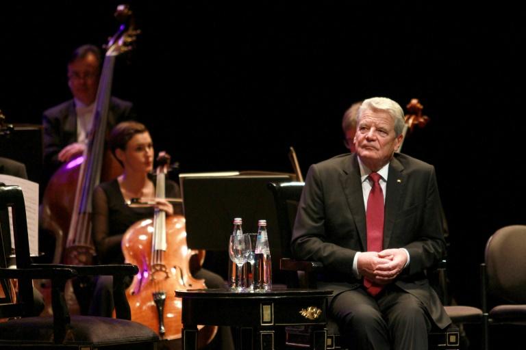 Gauck mit Ehrendoktortitel in Israel ausgezeichnet (© 2015 AFP)