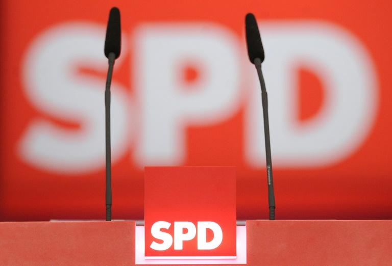SPD beginnt Bundesparteitag in Berlin (© 2015 AFP)