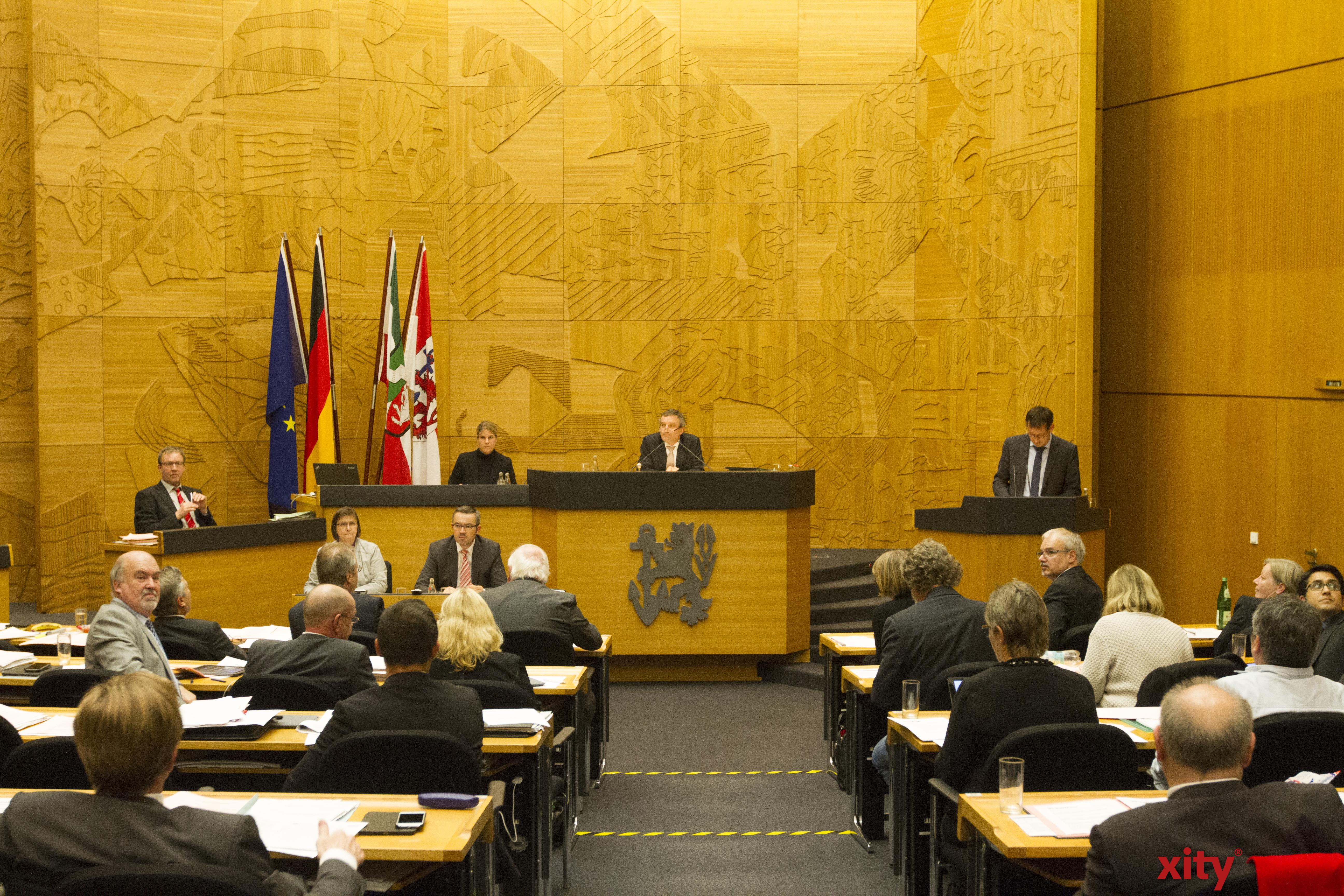 Am Donnerstag tagte der Rat der Stadt Düsseldorf (Foto: xity)
