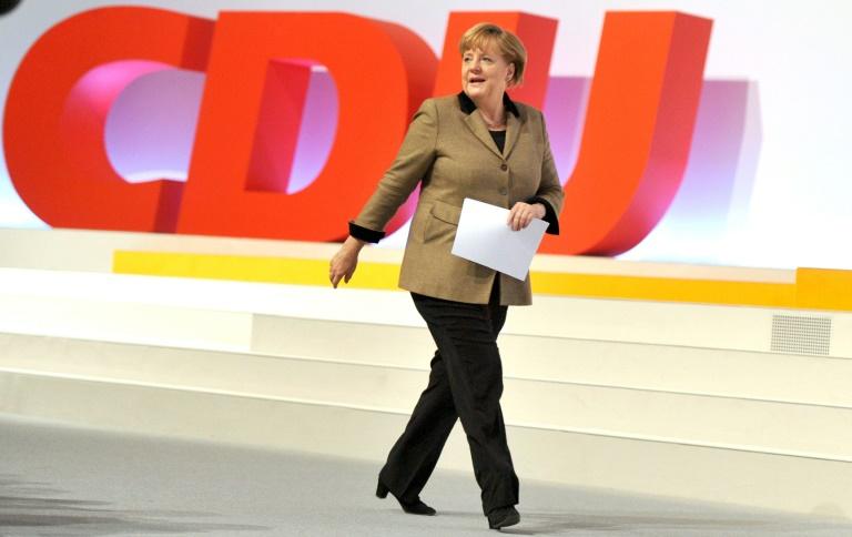 CDU beginnt zweitägigen Parteitag in Karlsruhe (© 2015 AFP)