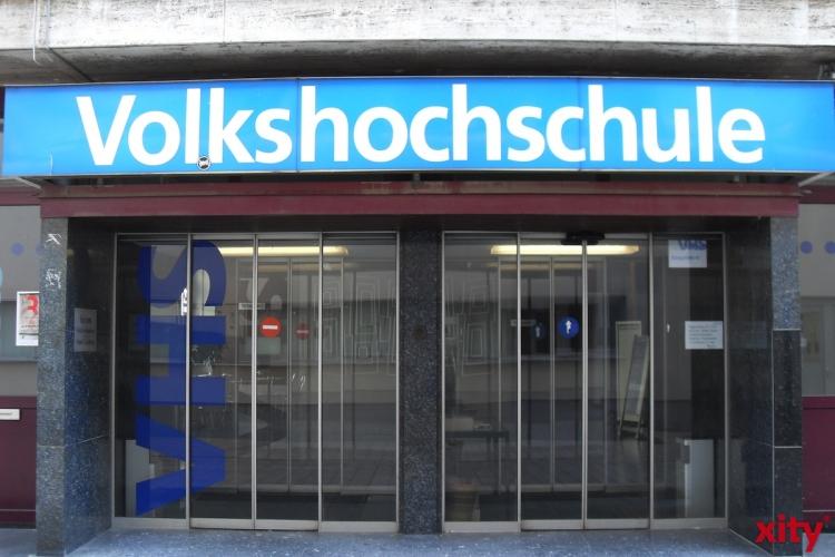 """Multimedia-Präsentation """"Fully integrated: Die Neue Deutsche Welle"""" in der VHS Düsseldorf (Foto: xity)"""