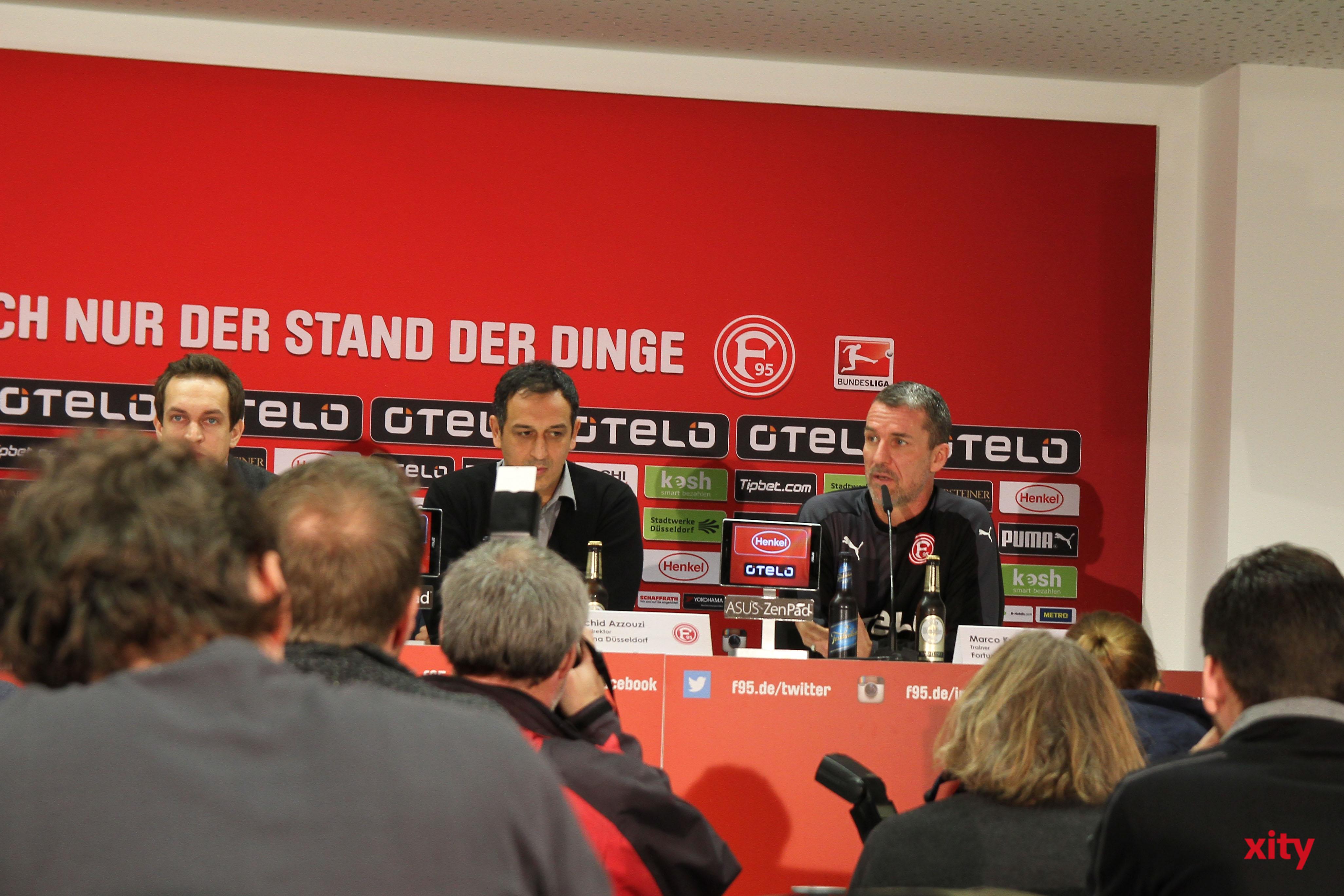 Seit dem 1. Januar 2016 ist Marco Kurz Trainer der Fortuna Düsseldorf  (Foto: xity)