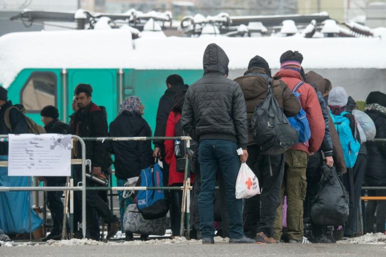 Deutsche mehrheitlich für Flüchtlingsobergrenzen (© 2016 AFP)