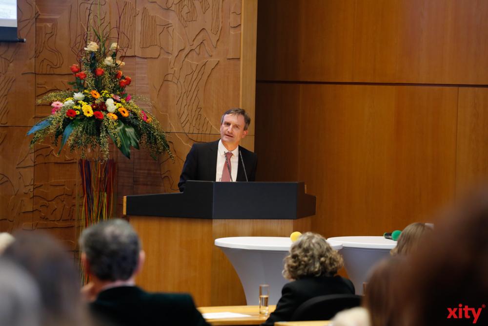 OB Thomas Geisel eröffnete die Veranstaltung mit einer Rede (Foto: xity)