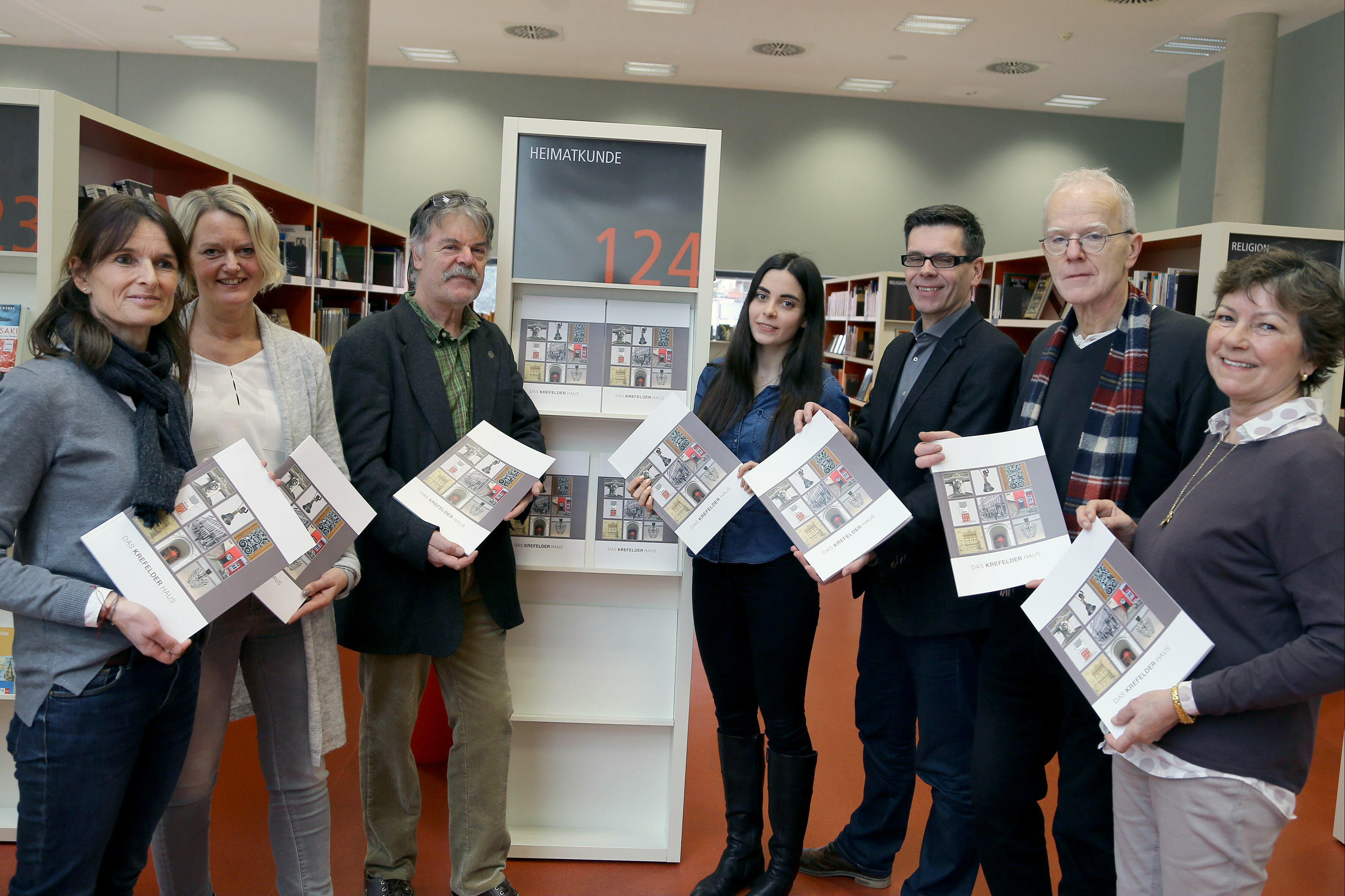 """Neue Publikation über das """"Krefelder Haus"""" ist erschienen (Foto: Stadt Krefeld/L. Strücken )"""