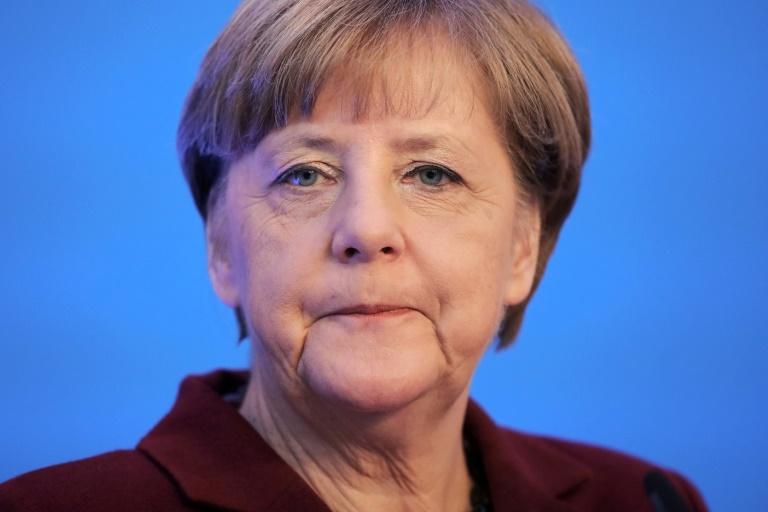 Merkel: Sorgen von Juden wegen wachsenden Antisemitismus ernst nehmen (© 2016 AFP)