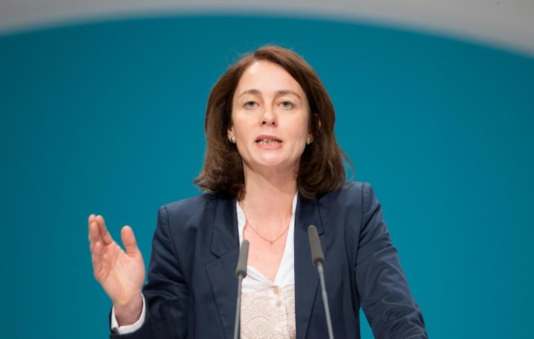 SPD-Generalsekretärin Barley kritisiert Unionsstreit zu Flüchtlingen (© 2016 AFP)