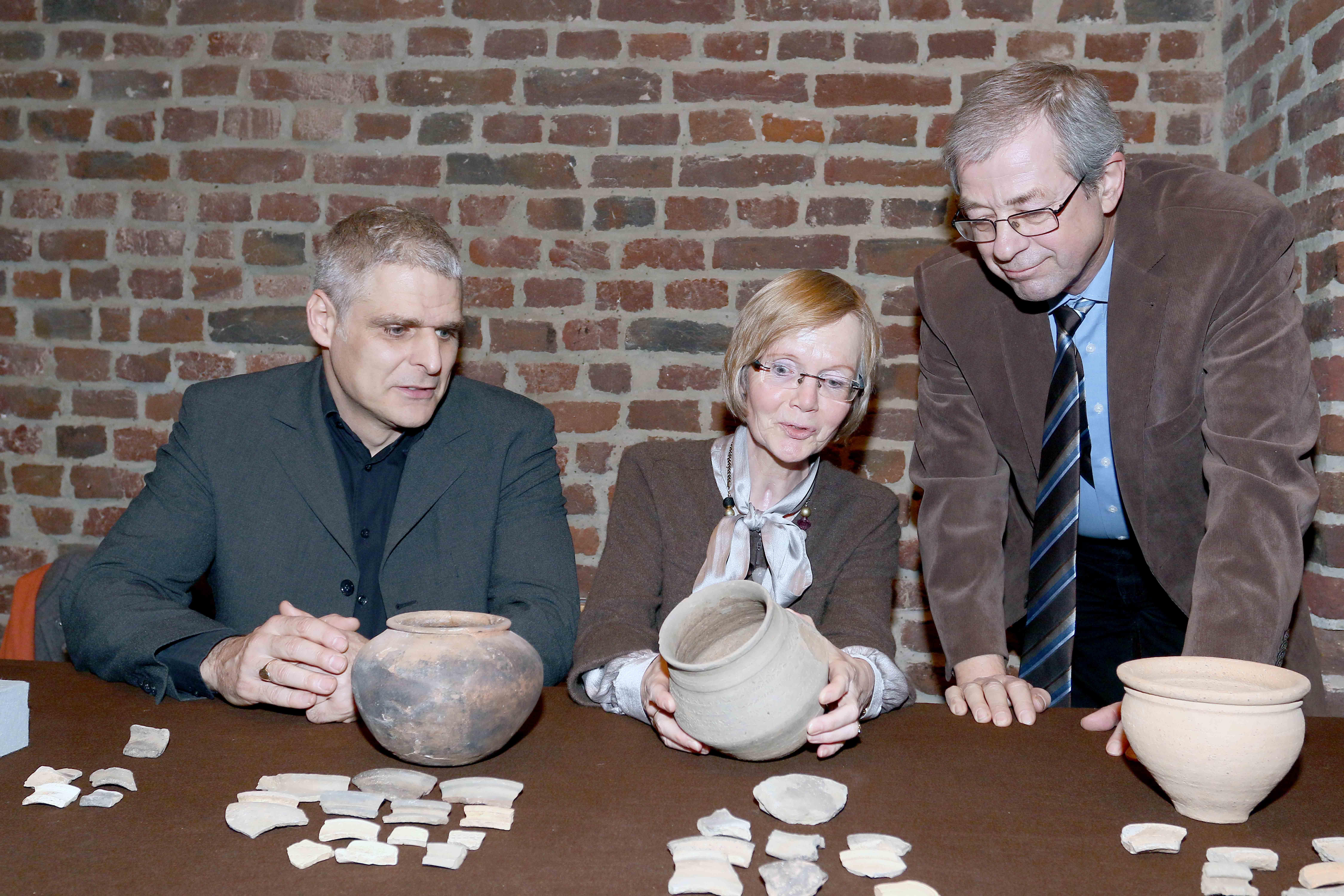 Grabungsabend im Archäologischen Museum (Foto: Stadt Krefeld)