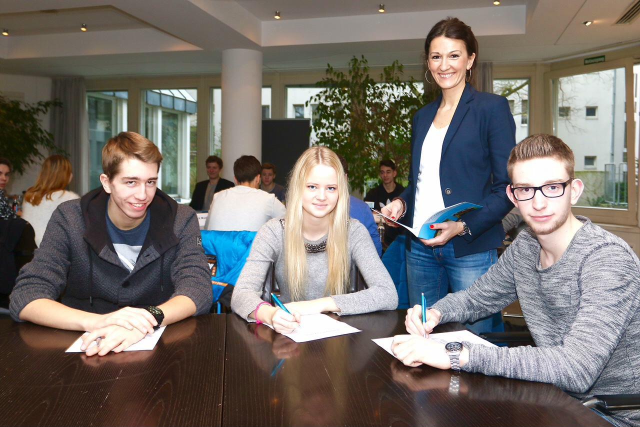 Stadtverwaltung informiert Schüler über Personalauswahlverfahren (Foto: Stadt K)