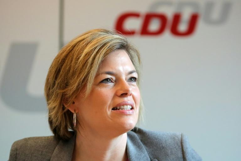 CDU-Kandidatin Klöckner nimmt nun doch an Live-Fernsehdebatte teil (© 2016 AFP)