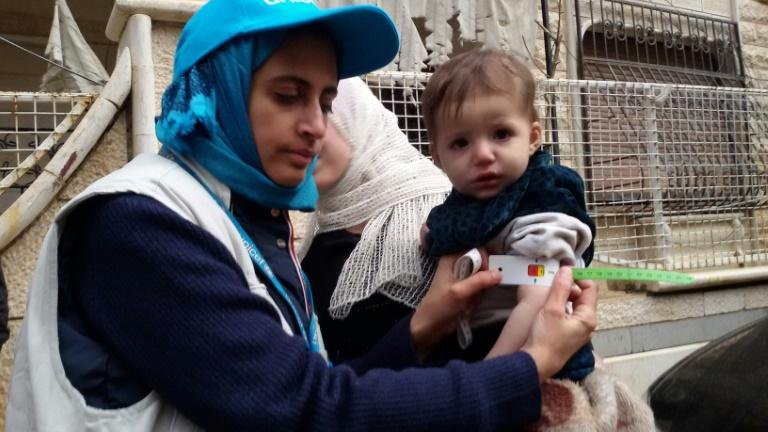 Berlin gegen Beteiligung an humanitärer Hilfe aus der Luft in Syrien (© 2016 AFP)