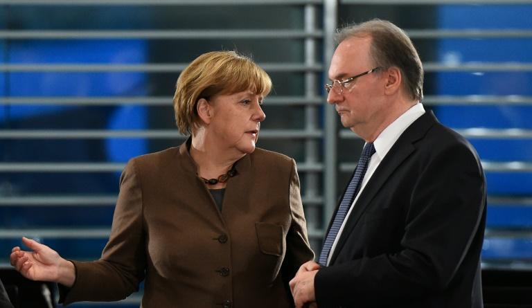 """Haseloff kritisiert """"Kontrollverlust"""" in Flüchtlingskrise (© 2016 AFP)"""