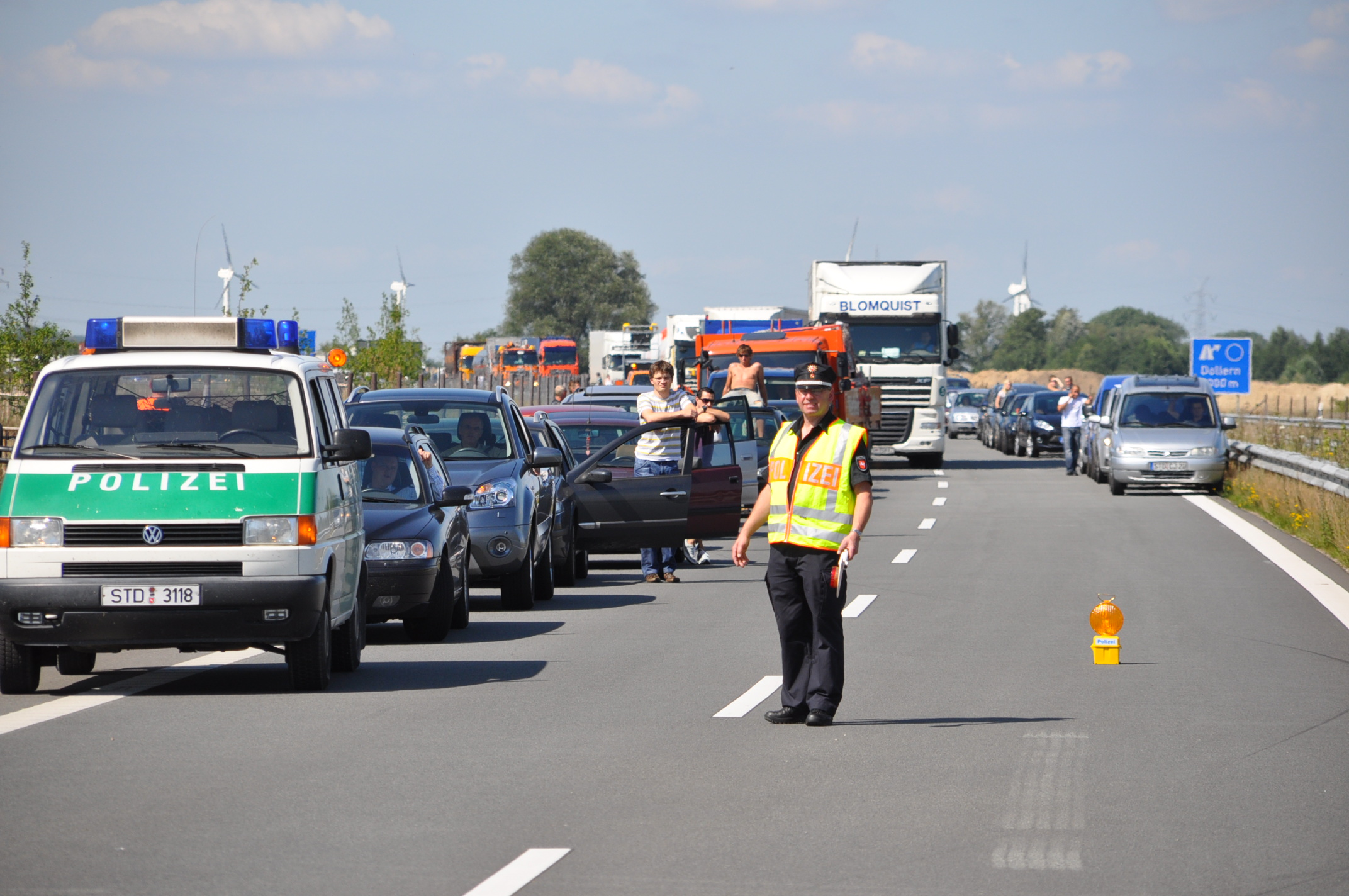 According to the ADAC the year 2015 was not a successfull year on the highway in Germany (Photo: xity)