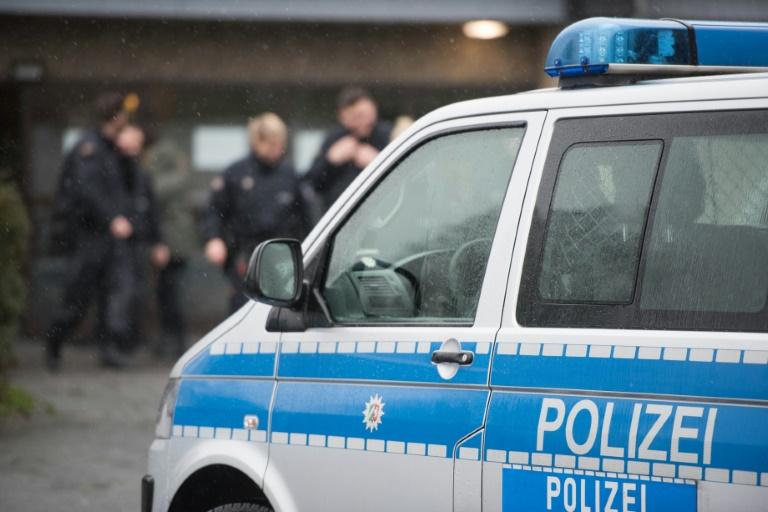 Polizei durchsucht Wohnräume von   Terrorverdächtigen nahe Mainz (© 2016 AFP)