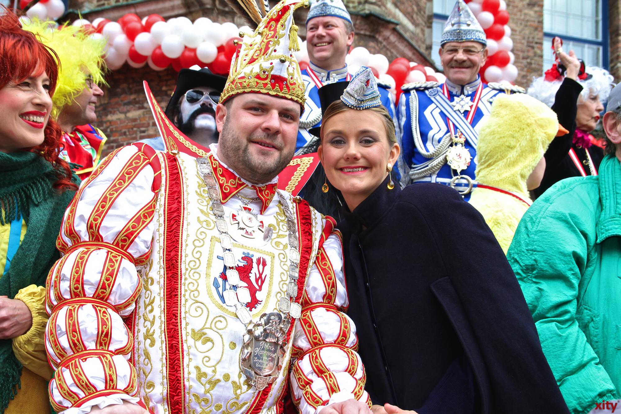 Hanni I. und seine Venetia Sara waren das Prinzenpaar der Session 2015/2016 (Foto: xity)