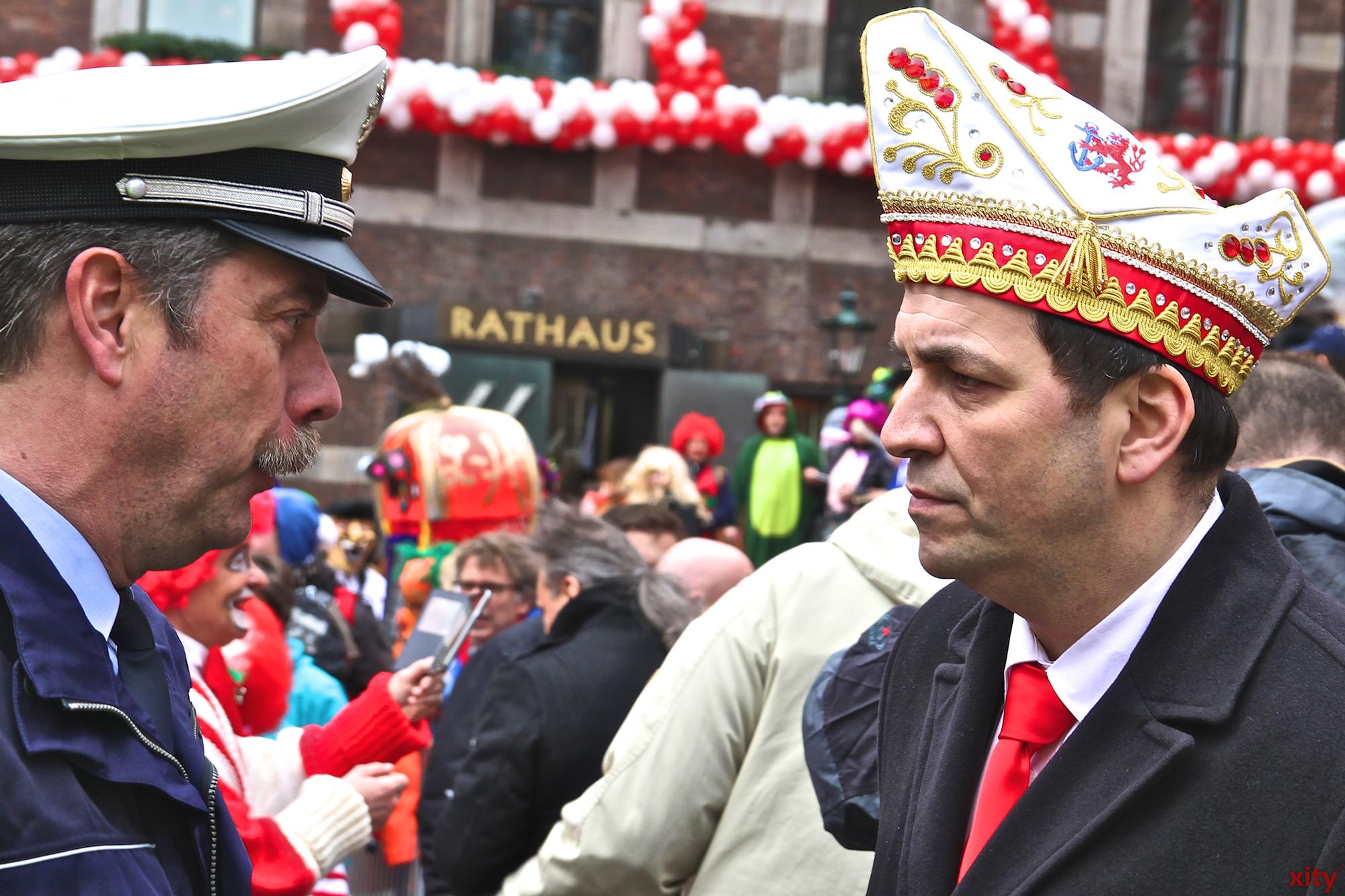 Organisations- und Sicherheitschef Sven Gerlin (r.) fiel die Entscheidung nicht leicht (Foto: xity)