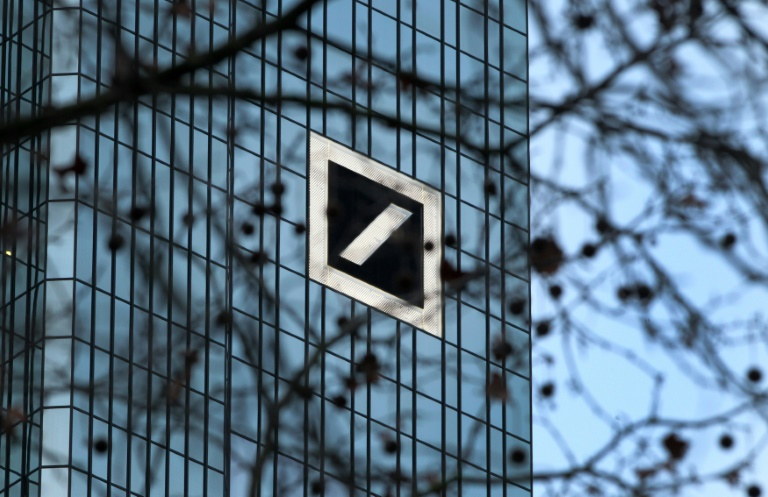 Aktienkurs der Deutschen Bank klettert um mehr als zehn Prozent (© 2016 AFP)
