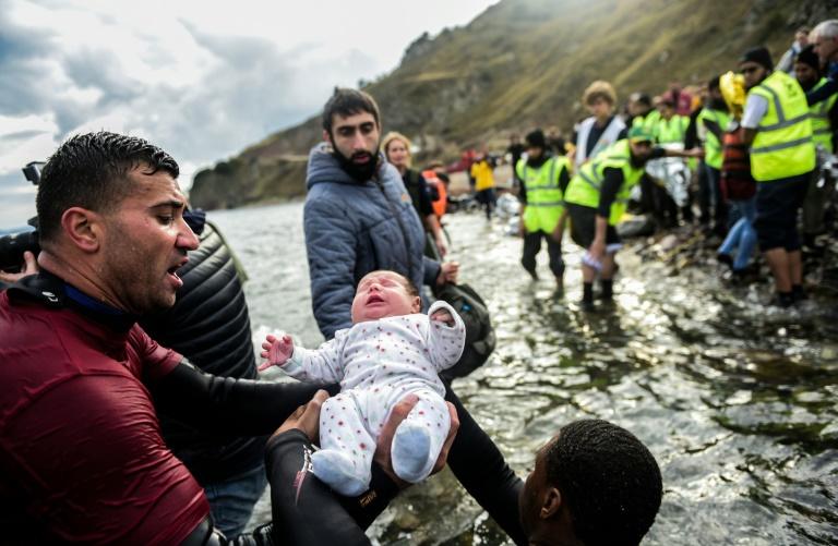 Nato unterstützt Plan zur Marine-Mission in Flüchtlingskrise (© 2016 AFP)