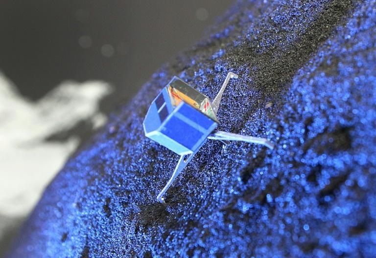 """Kometensonde """"Philae"""" fällt in ewigen Winterschlaf (© 2016 AFP)"""