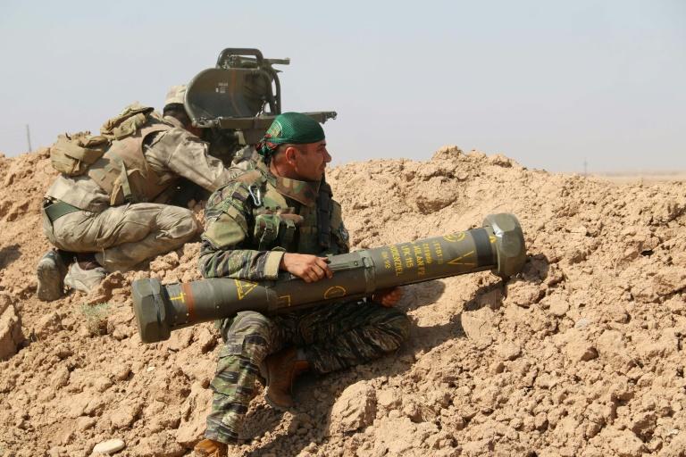 Berlin fordert von irakischen Kurden Auskunft über deutsche Waffen (© 2016 AFP)