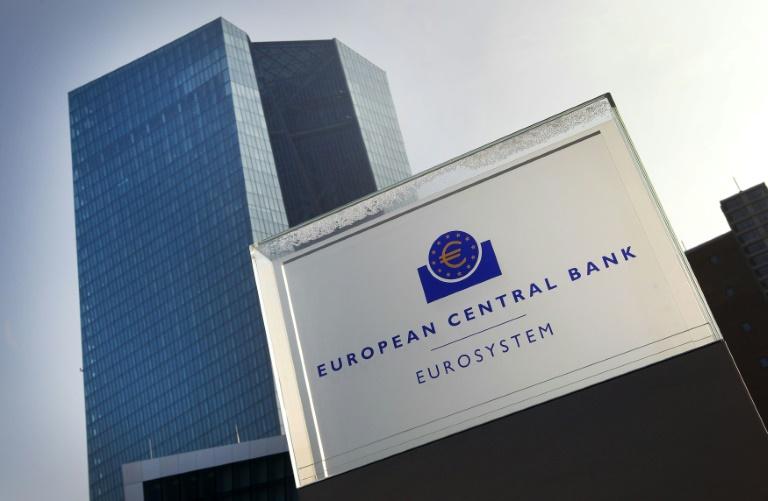 Kläger erneuern in Karlsruhe Kritik an Anleihekaufprogramm der EZB (© 2016 AFP)