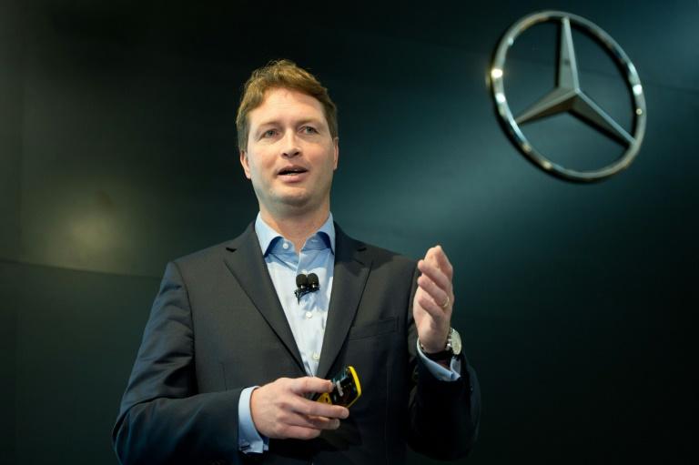 Ola Källenius wird neuer Entwicklungschef bei Daimler (© 2016 AFP)
