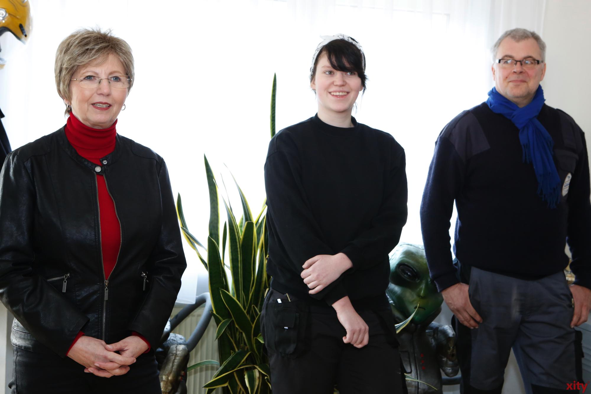(v.l.) Sigrid Köhler, Dunja Stolarski und Christian Vorderwülbecke (Foto: xity)