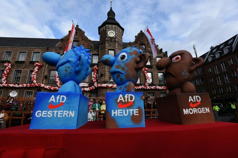 SPD setzt im Wahlkampf auf klare Kante gegen AfD (© 2016 AFP)