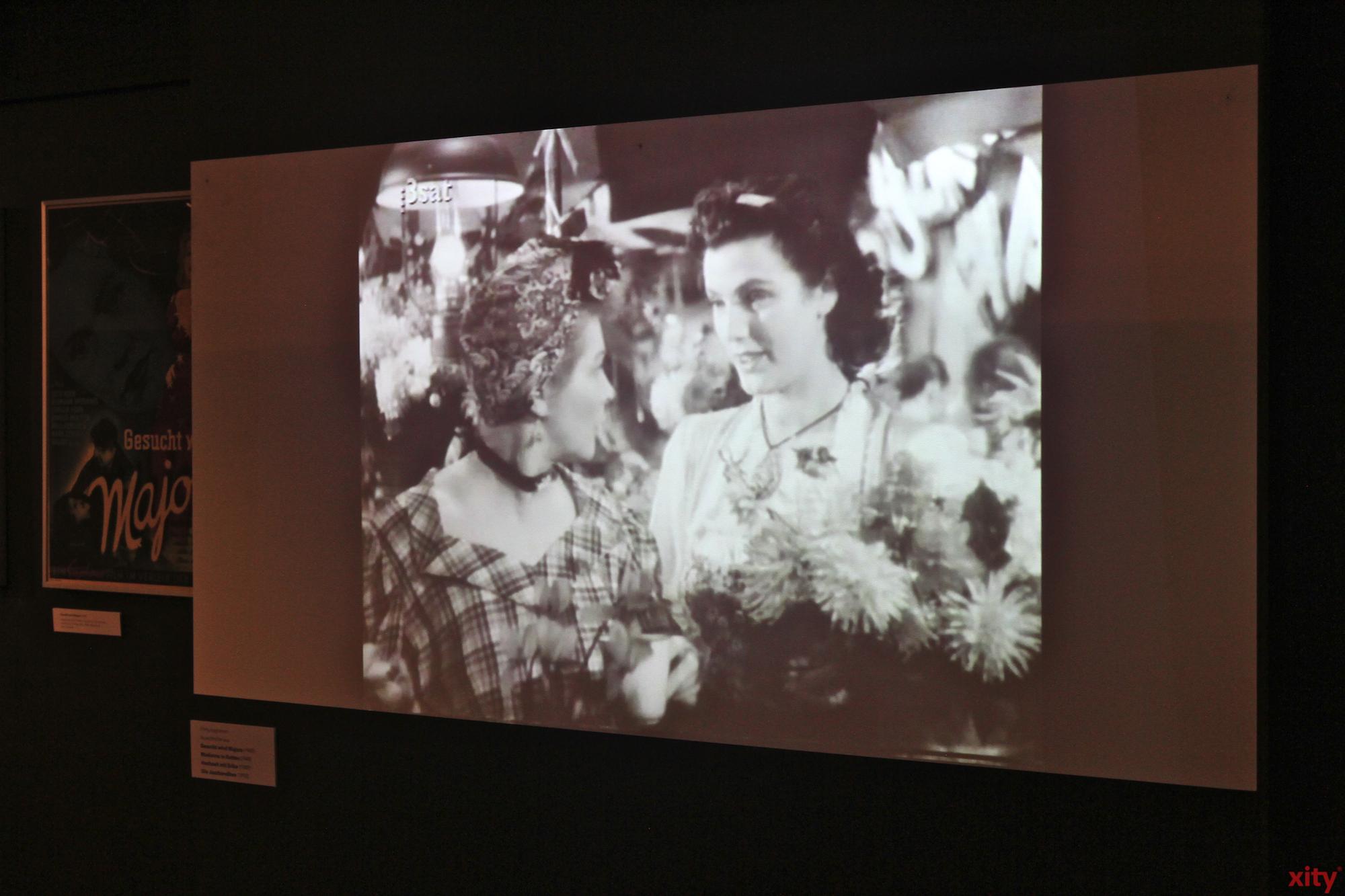 Teil der Ausstellung ist auch ein Ausschnitt aus einem Dokumentarfilm der 1930er bis 1950er Jahre (Foto: xity)