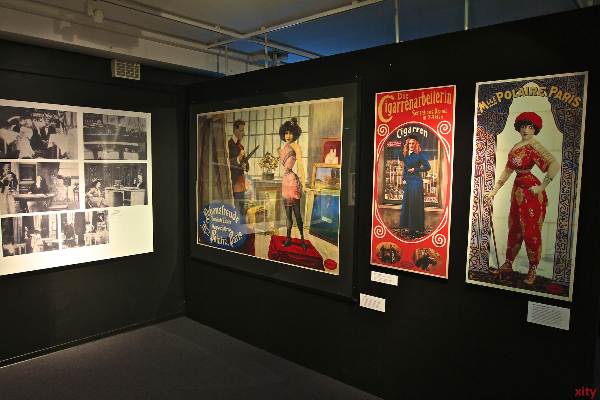 Die Ausstellung zeigt die Entwicklung der Filmstadt Düsseldorf (Foto: xity)