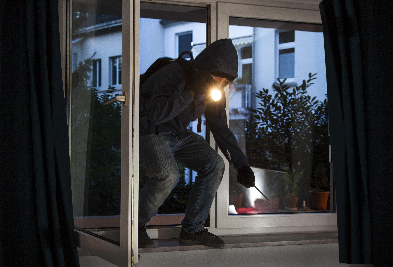Hartnäckige Diebe versuchten erst durch die Schiebetür zu kommen, fanden anschliessend durch ein Fenster einen Weg in das Einfamilienhaus (Foto: OTS)