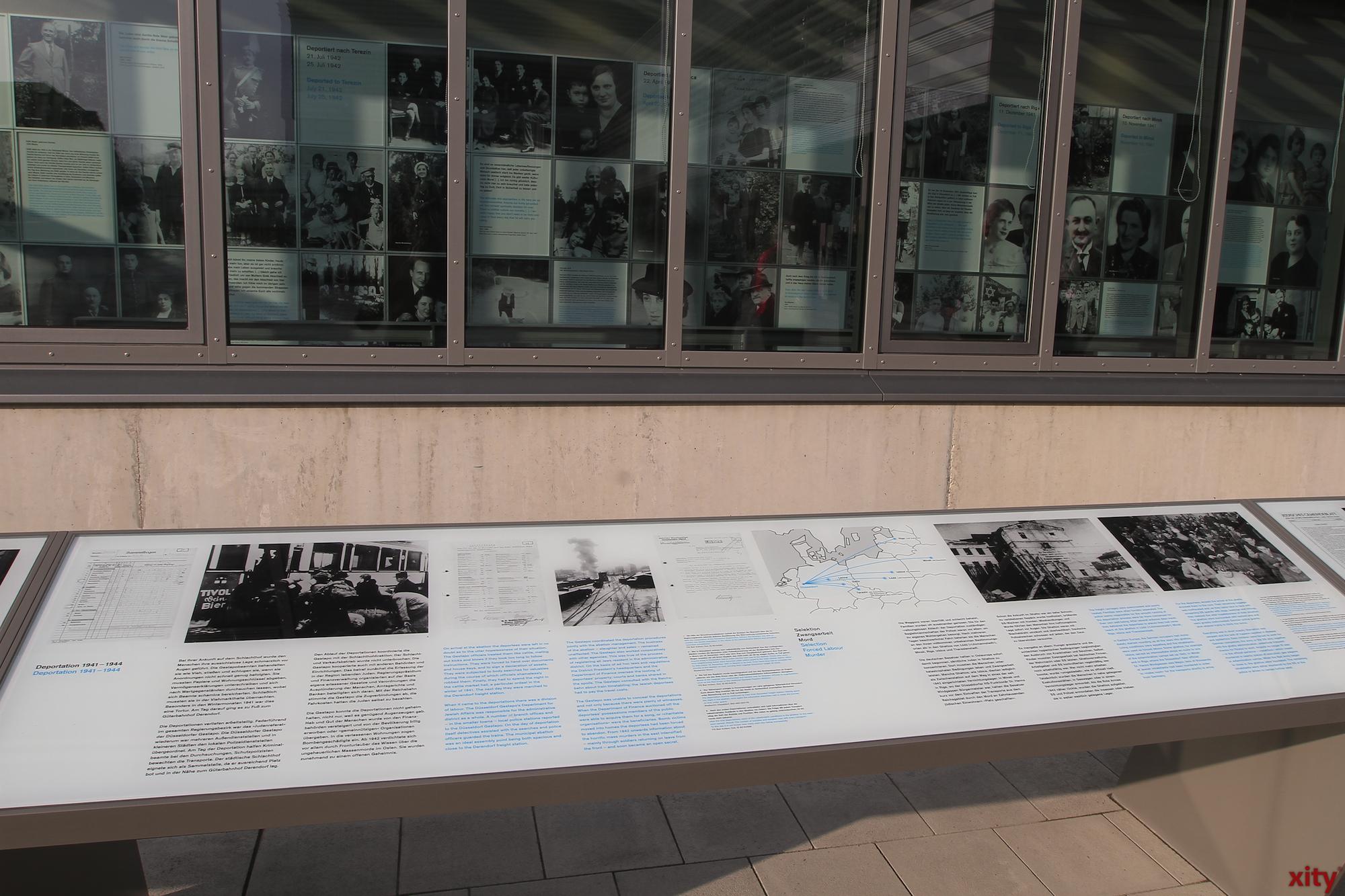 Anschließend wurde ein Rundgang durch den historischen Ort und der Ausstellung von Dr. Jochen Schroder durchgeführt (Foto: xity)