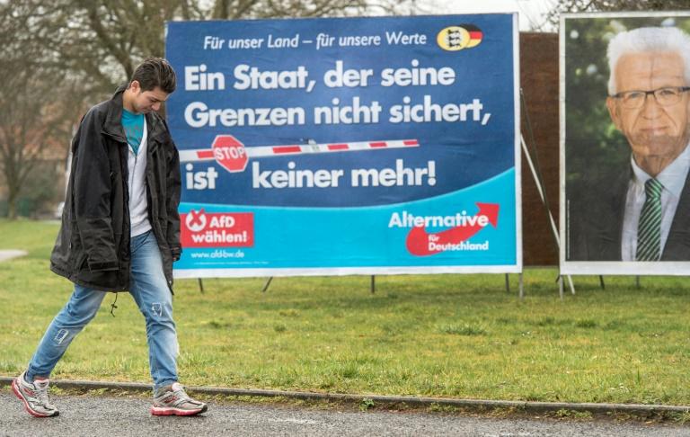 Maas: Verfassungsschutz muss AfD im Blick behalten (© 2016 AFP)