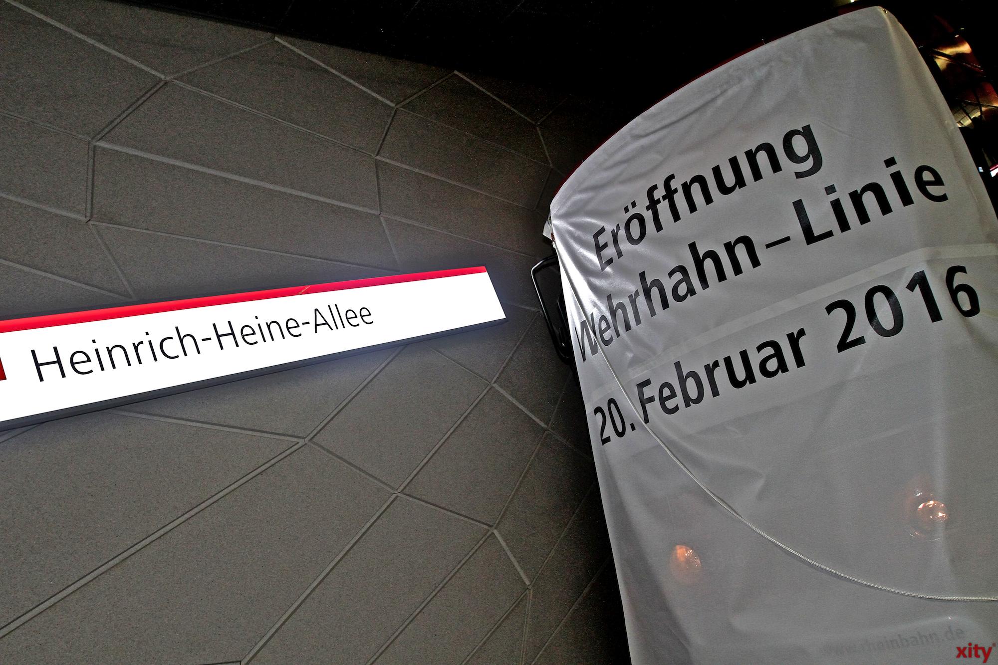 Mit der neuen Wehrhan-Linie wurden neue Bahn-Linien eingeführt, alte Bahn-Linien weggefallen und neue Fahrpläne ausgehangen (Foto: xity)