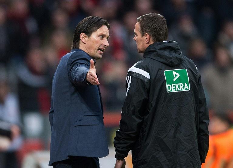 Leverkusens Trainer droht Strafe durch das Sportgericht (© 2016 AFP)