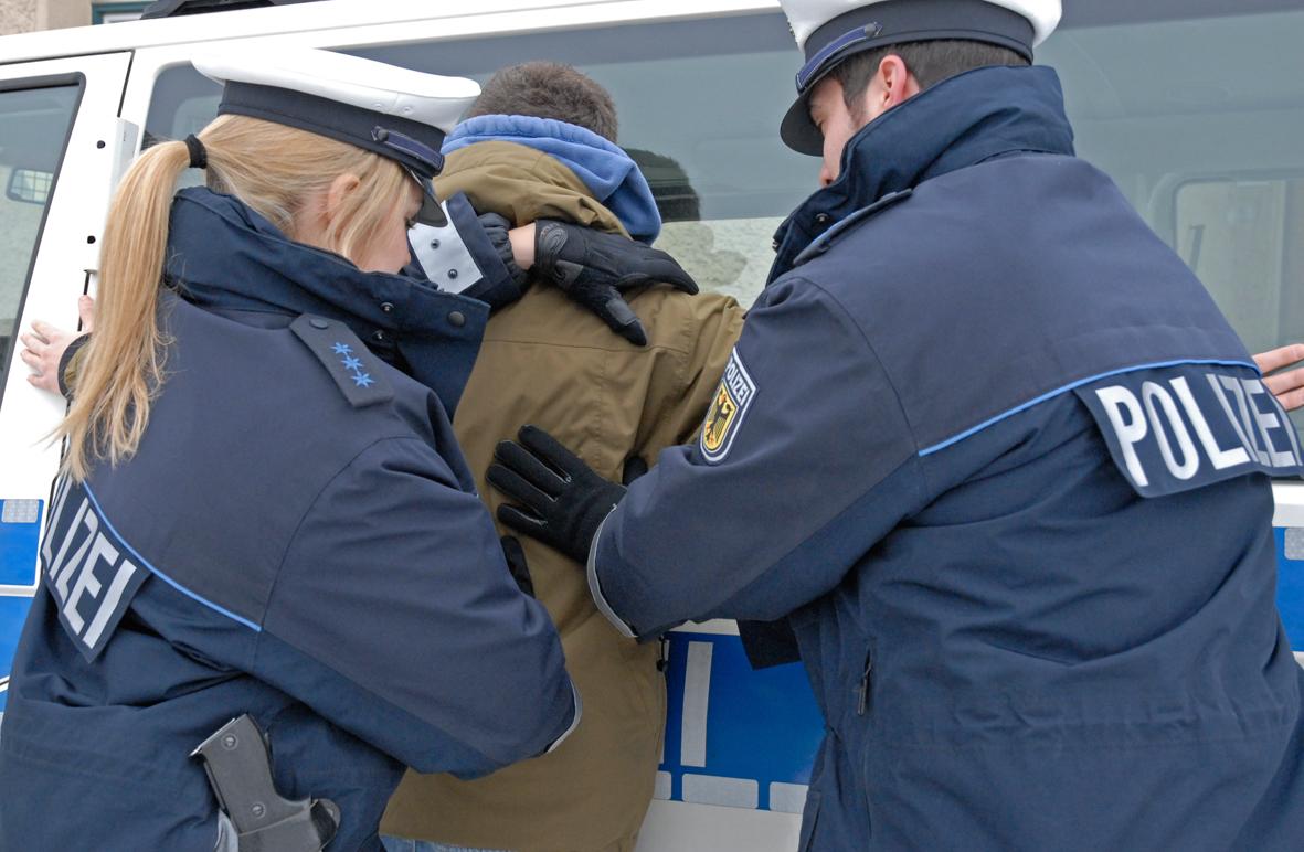 Mörder verhaftet (Foto: OTS)