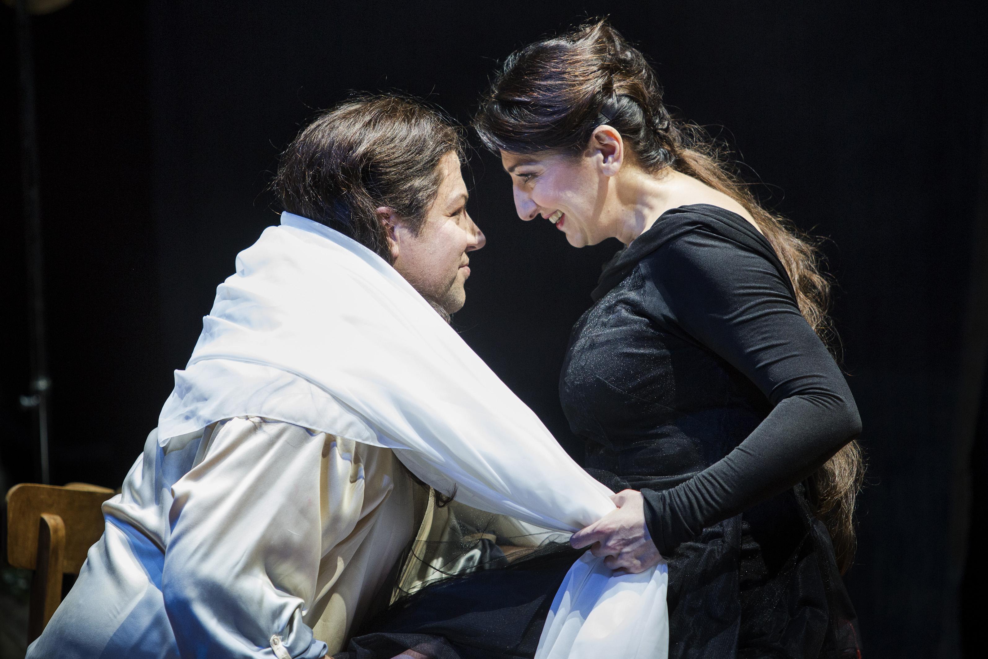 """""""Ariadne auf Naxos"""" in Duisburg (Foto: Florian Merdes)"""