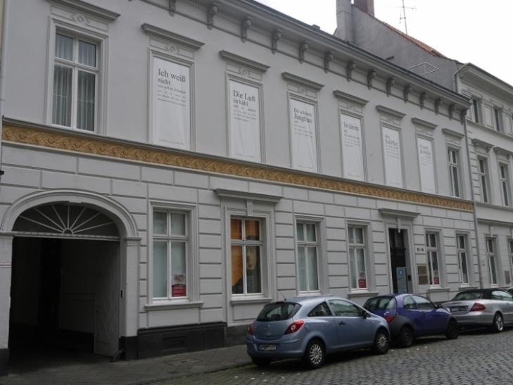 """""""schriftgestalten"""" im Heine-Institut Düsseldorf (Foto: xity)"""
