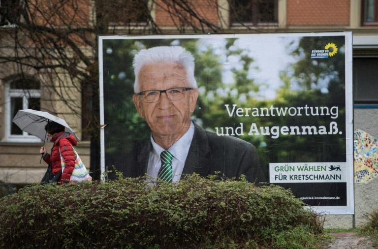 Podiumsdiskussion mit allen Spitzenkandidaten in Baden-Württemberg (© 2016 AFP)
