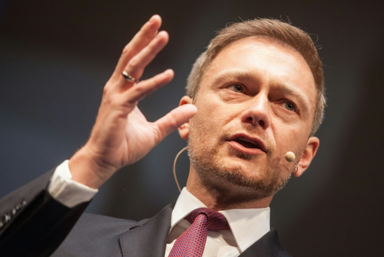 Lindner gegen Bündnisse mit den Grünen nach Landtagswahlen (© 2016 AFP)