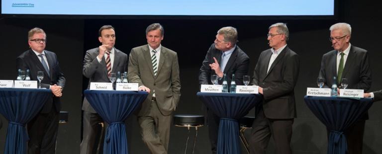 Scharfe Attacken gegen AfD auf Podiumsdiskussion in Baden-Württemberg (© 2016 AFP)