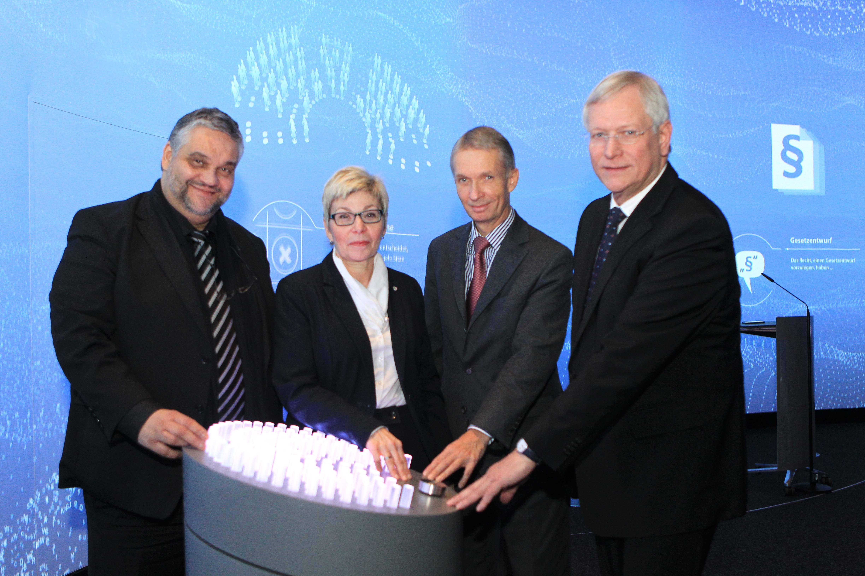 Landtag eröffnet multimediales Besucherzentrum (Foto: Landtag NRW)