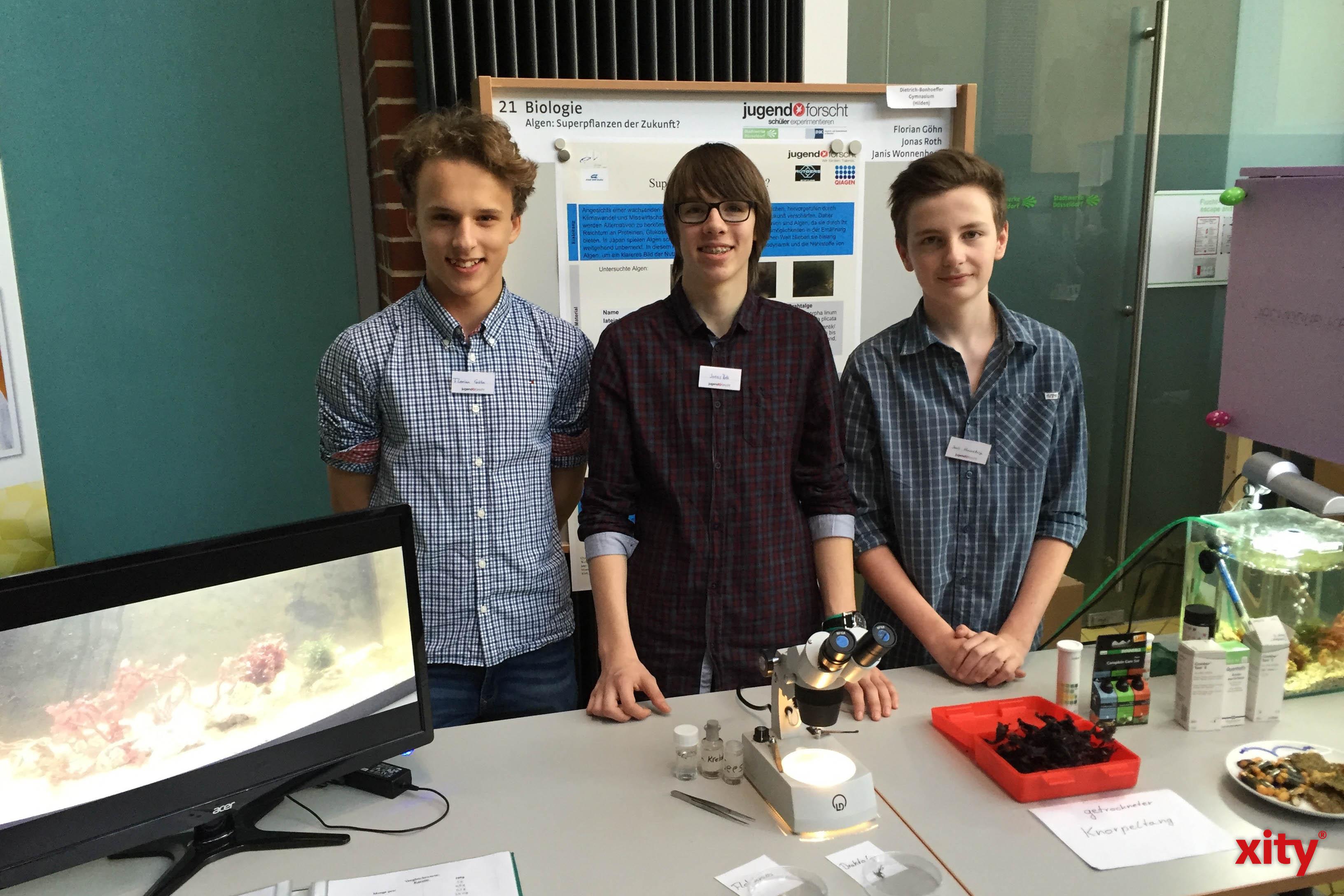 Jugend Forscht zu Gast bei den Stadtwerken (Foto: xity)