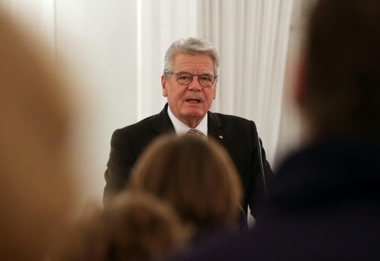 Gauck besorgt über Zerwürfnisse in Europa wegen Flüchtlingen (© 2016 AFP)