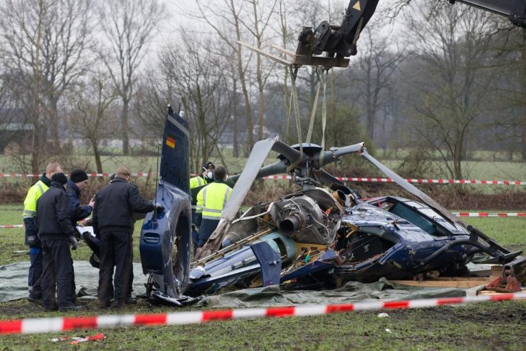 Suche nach Ursache für Absturz von Bundespolizei-Hubschrauber wird dauern (© 2016 AFP)