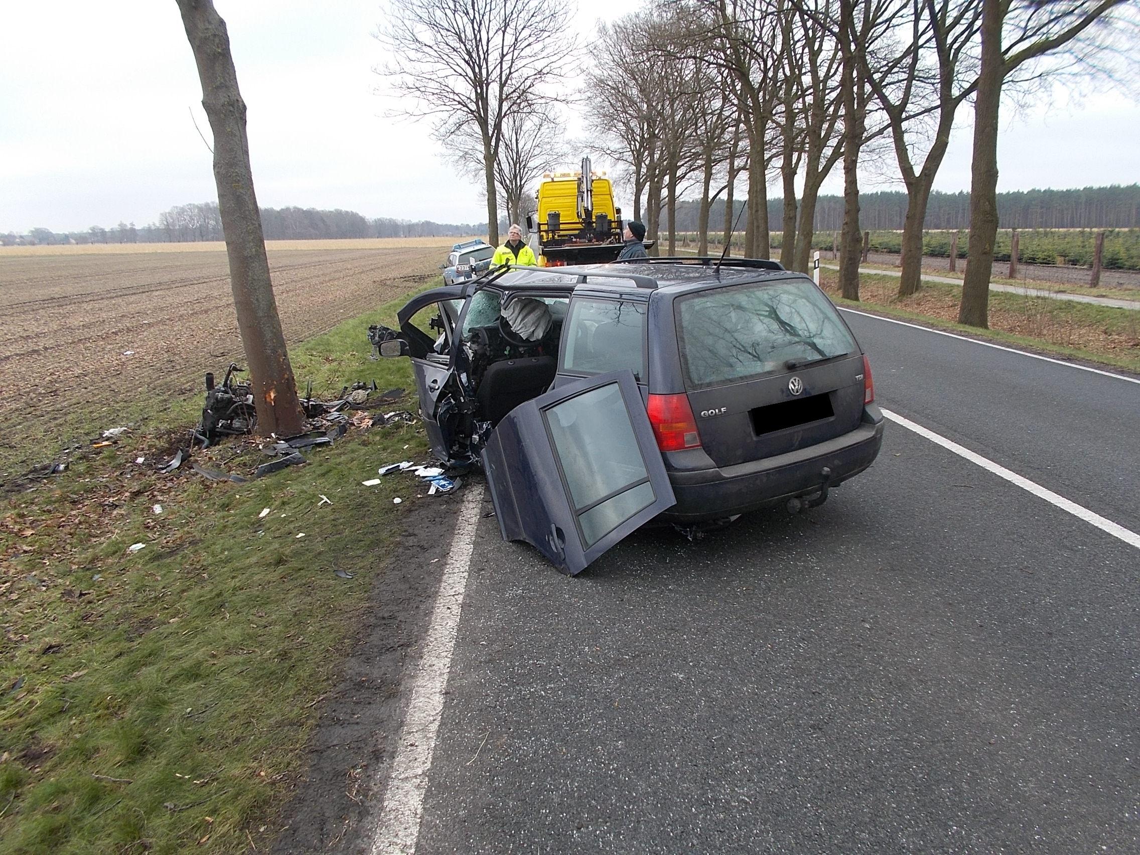 Autofahrerin bei Unfall schwer verletzt (Foto: OTS)