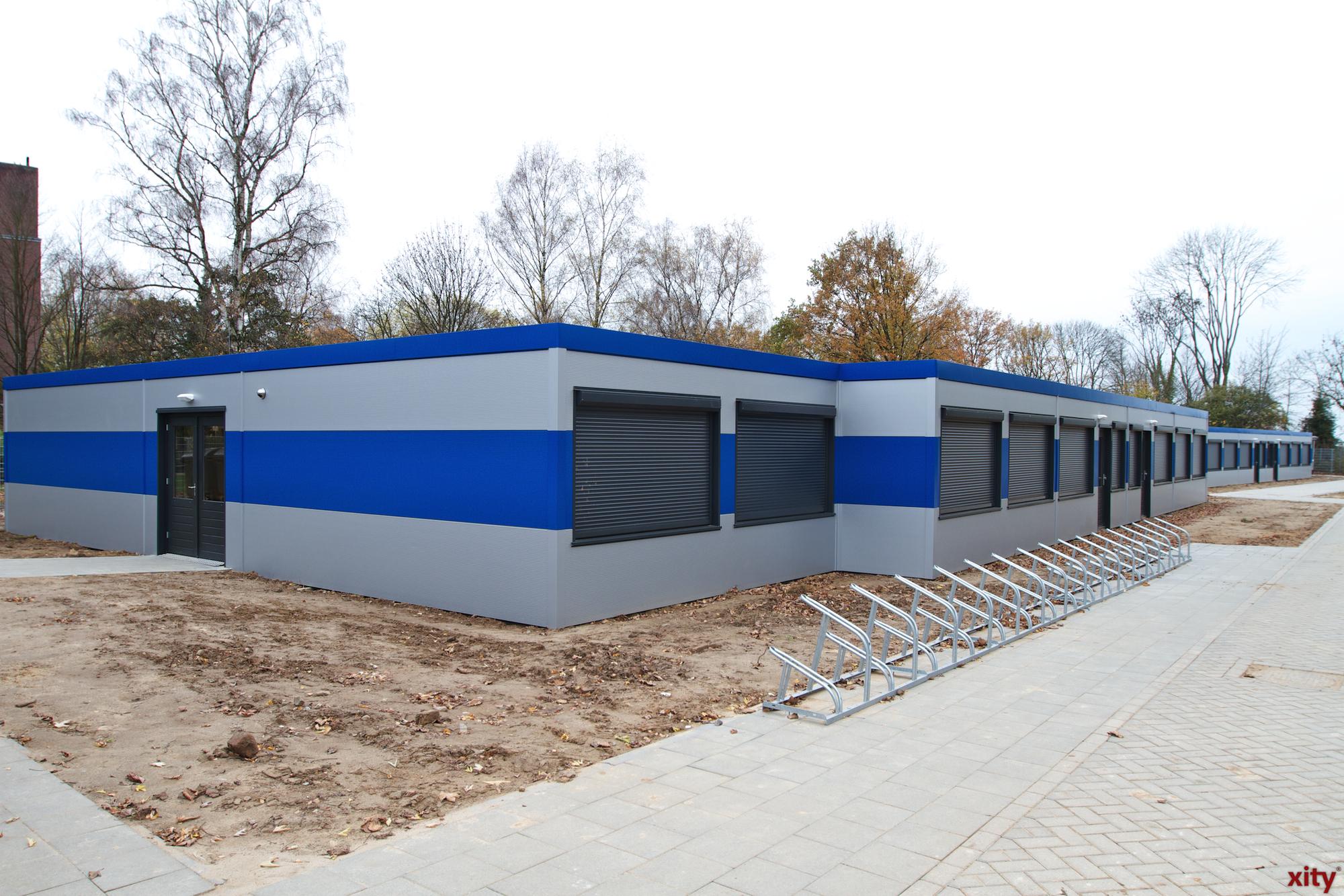 Das Flüchtlingsheim an der Blanckertstraße (Foto: xity)