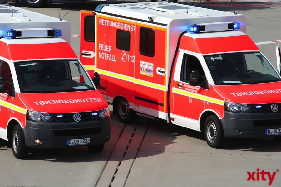 Schwerverletzter bei Arbeitsunfall in Stahlbetrieb auf der Hildener Straße (Foto: xity)