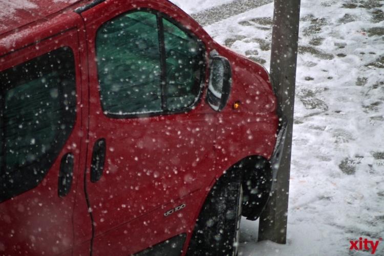 Winterliche Straßenverhältnisse sind jedes Jahr aufs Neue eine Herausforderung für Verkehrsteilnehmer (Foto: xity)